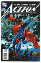 Action Comics #844 Andy Kubert Incentive Variant Front Cover