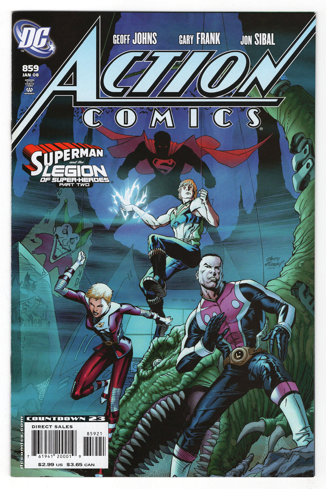 Action Comics #859 Andy Kubert Variant Front Cover