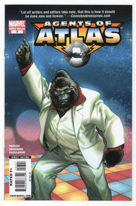 Agents of Atlas #7 Carlo Pagulayan Incentive 70's Variant Front Cover
