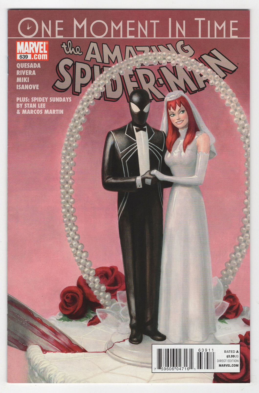 Amazing Spider-Man #639 Regular Paolo Rivera Cover Front
