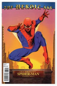 Amazing Spider-Man #631 Doug Braithwaite Incentive Variant Cover Front