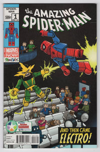 Amazing Spider-Man #1 Diamond Retailer Summit Barry Bradfield Minimates Variant Cover Front