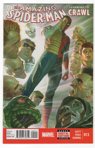 Amazing Spider-Man #1.5 Regular Alex Ross Cover Front