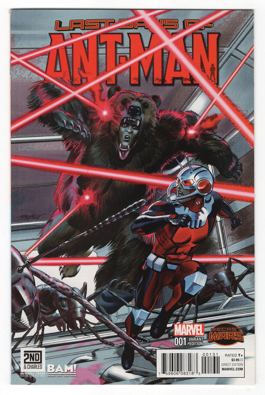 Last Days of Ant-Man #1 Mike Mayhew Books a Million Variant Cover Front