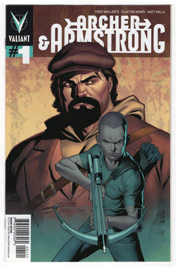 Archer & Armstrong #1 Clayton Henry Variant Front Cover
