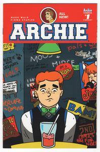 Archie #1 Kate Leth Books a Million Variant Front Cover