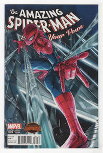 Amazing Spider-Man Renew Your Vows #4 Yusuke Murata Manga Variant Cover Front