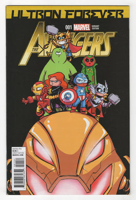 Avengers Ultron Forever #1 Skottie Young Variant Cover Front