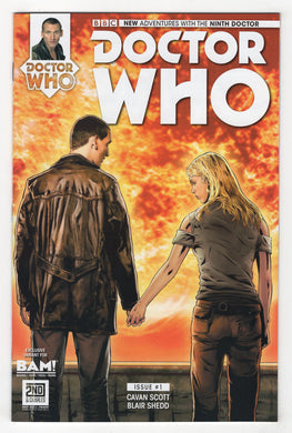 Doctor Who The Ninth Doctor #1 Joe Corroney Books a Million Variant Cover (2015) Front