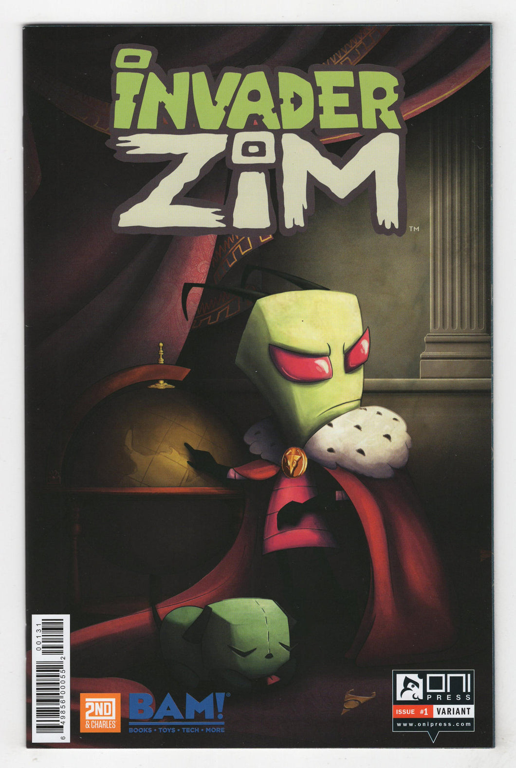 Invader Zim #1 Books a Million Variant Cover Front
