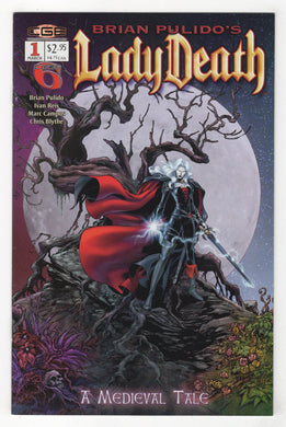 Lady Death Medieval Tale #1 Cover Front