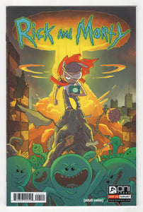 Rick and Morty #1 CJ Cannon Books a Million Variant Cover (2015) Front