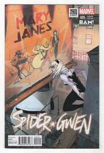 Spider-Gwen #5 Variant Cover Front