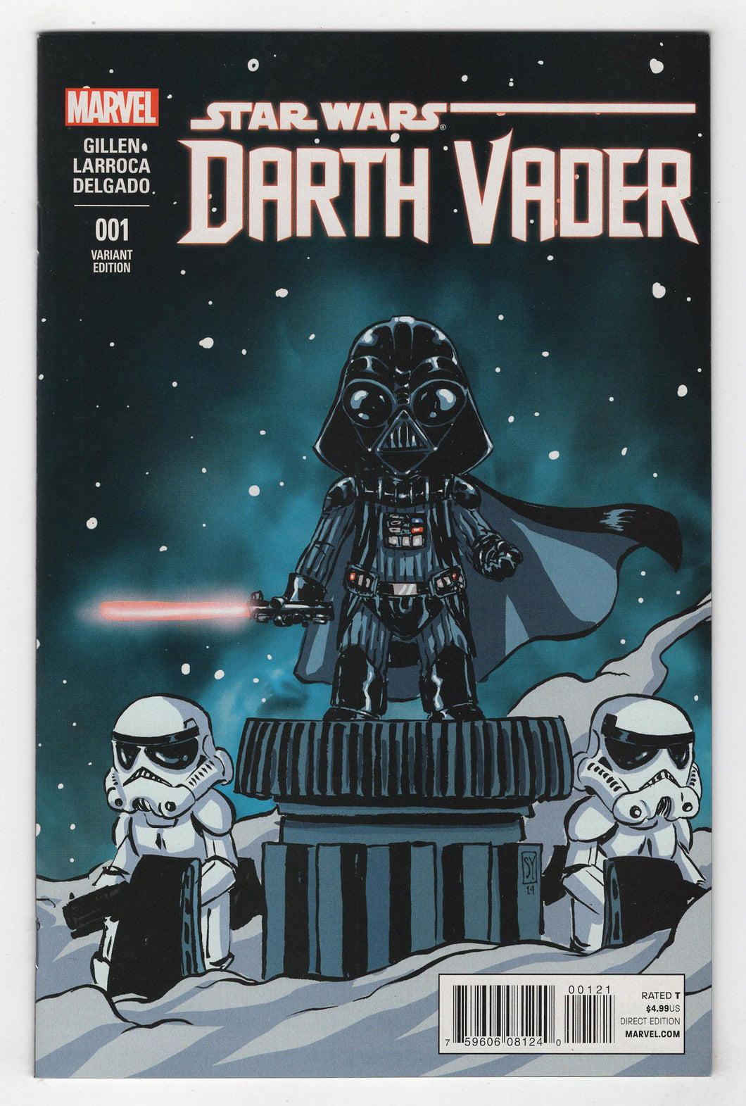 Star Wars Darth Vader #1 Young Variant Cover Front
