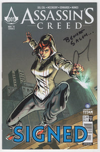 Assassin's Creed #1 Regular Neil Edwards Cover Signed by Anthony Del Col Front