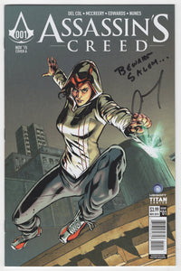 Assassin's Creed #1 Regular Neil Edwards Cover Front