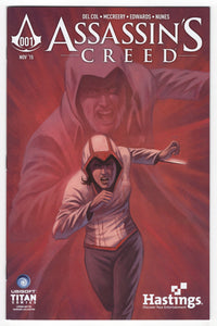 Assassin's Creed #1 Mariano Laclaustra Hastings Variant Front Cover