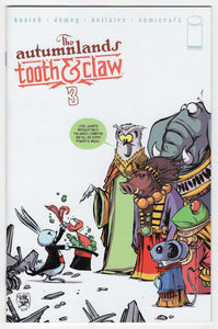Autumnlands Tooth & Claw #3 Skottie Young Variant Cover Front