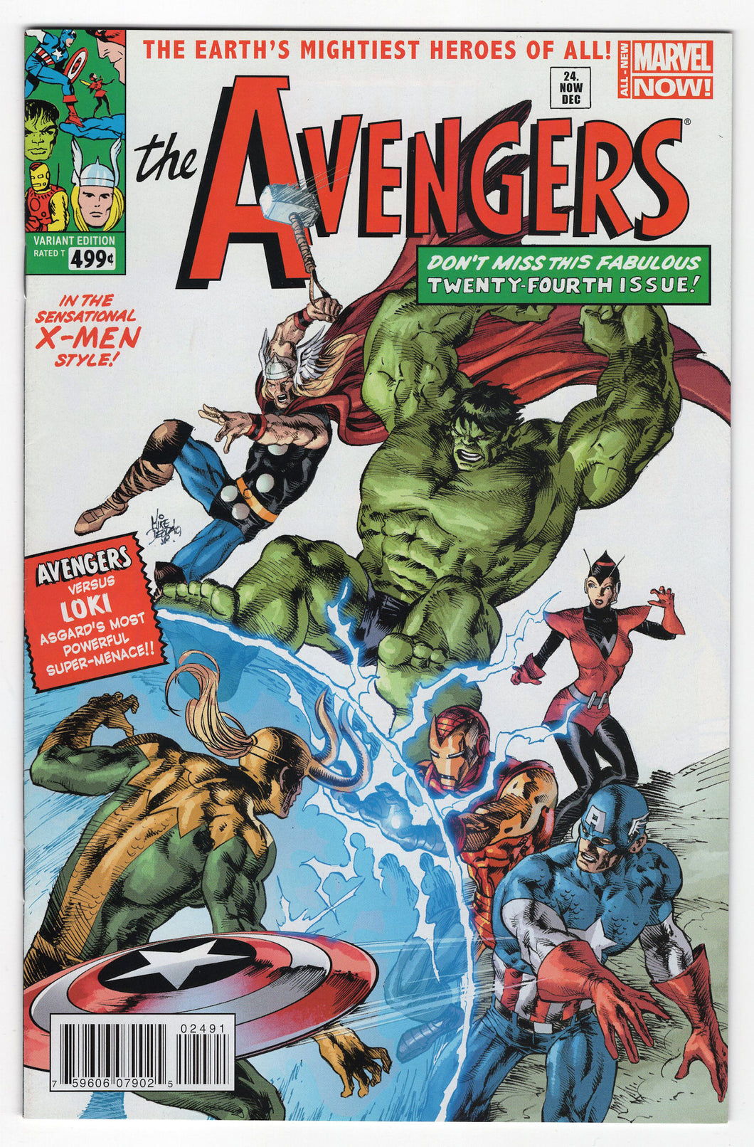 Avengers #24 Mike Deodato Jr. Variant Front Cover