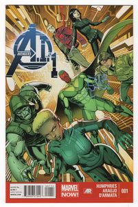 Avengers A.I. #1 Regular Dustin Weaver Front Cover