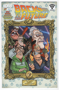 Back to the Future #1 Drew Rausch Fried Pie Variant Cover Front