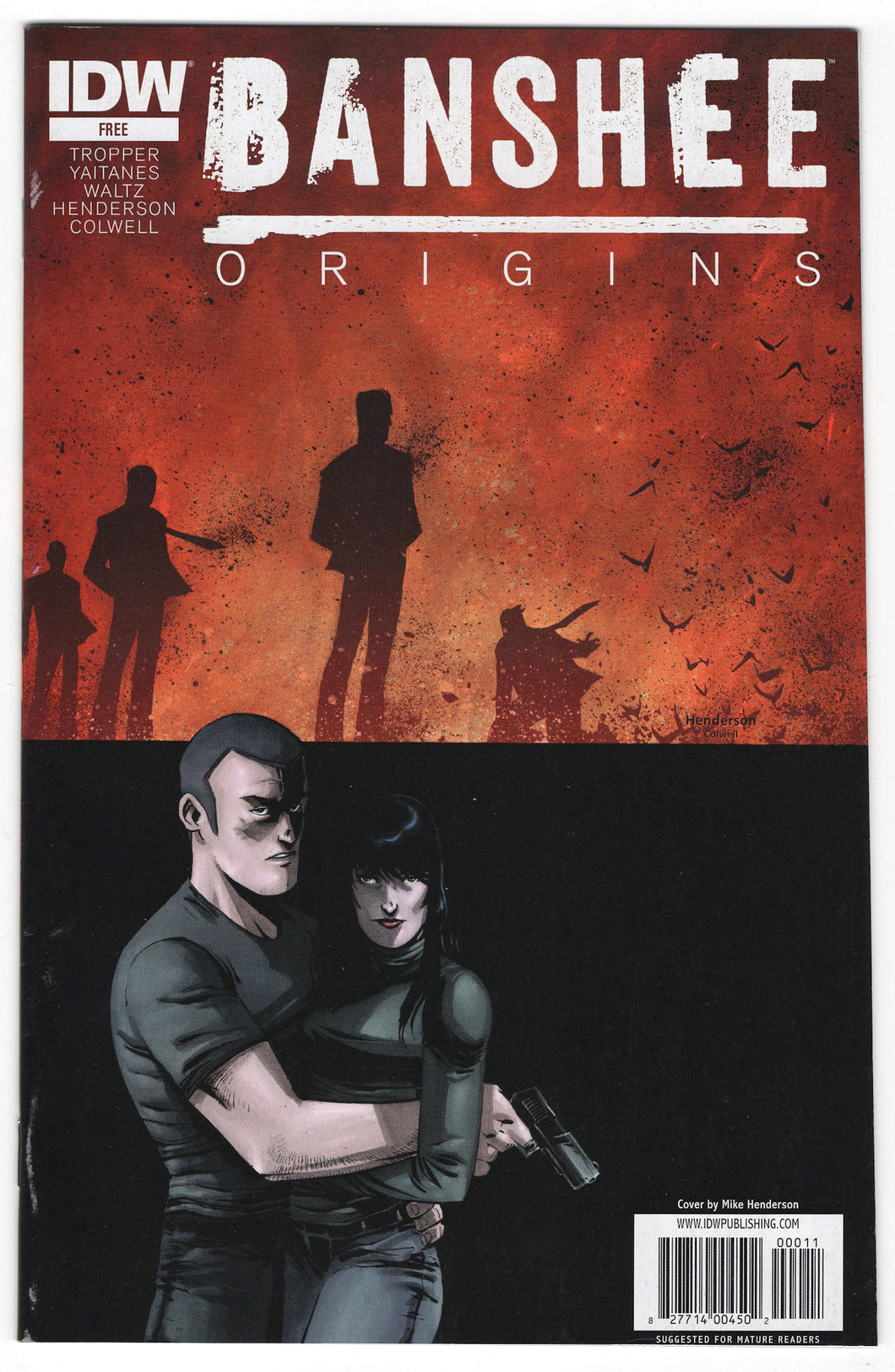 Banshee Origins #1 Regular Mike Henderson Cover Front