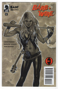 Barb Wire #1 Adam Hughes Books a Million Variant Cover Front