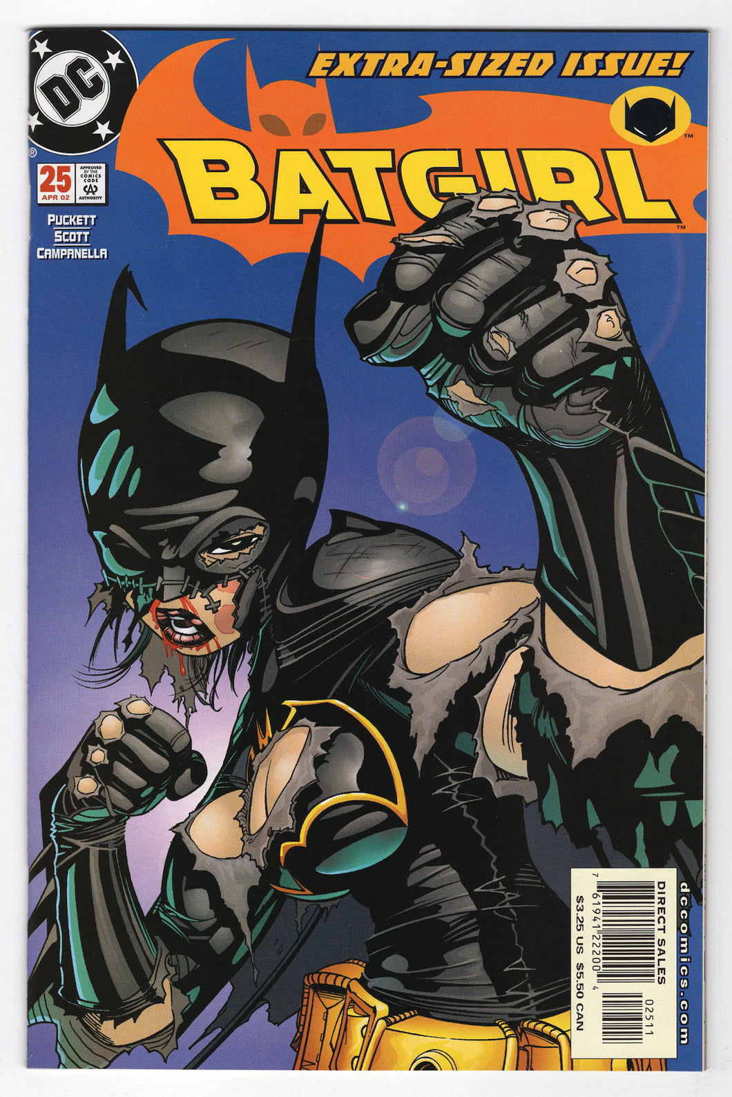 Batgirl #25 Regular Damion Scott Cover Front