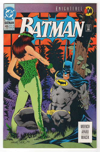 Batman #495 Regular Kelley Jones Cover (1993) Front