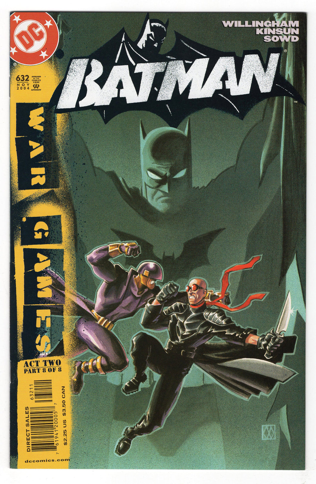 Batman #632 Regular Matt Wagner Cover (2004) Front