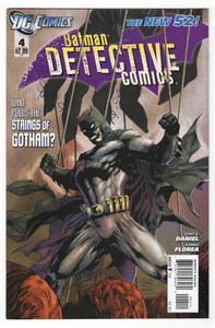 Detective Comics #4 Regular Tony S Daniel Cover (2011) Front