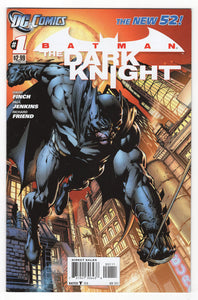 Batman The Dark Knight #1 Regular David Finch Cover (2011) Front