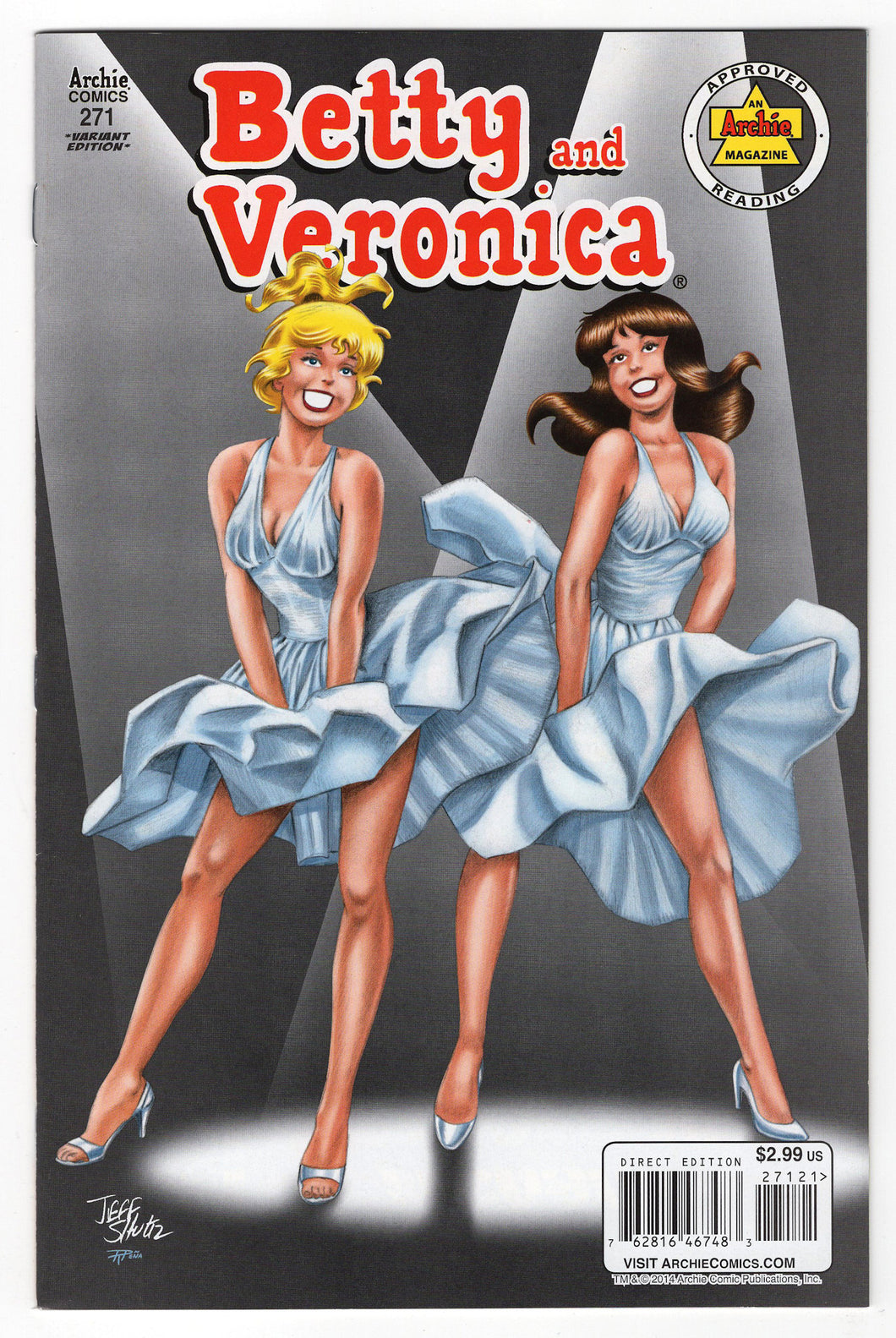 Betty & Veronica #271 Jeff Schultz Variant Cover (2014) Front