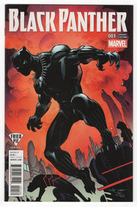 Black Panther #1 Larry Stroman Fried Pie Variant Cover (2016) Front