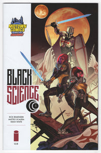 Black Science #1 Paul Renaud Midtown Variant Cover (2013) Front