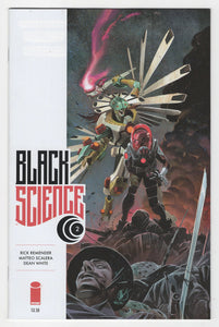 Black Science #2 Regular Matteo Scalera Cover (2013) Front