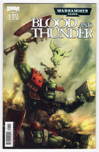 Warhammer 40000 Blood & Thunder #1 Kunkka Variant Cover (2007) Front