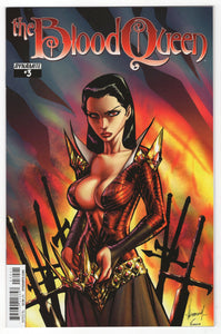 Blood Queen #3 Ale Garza Variant Cover (2014) Front