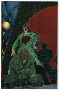 Bloodshot #0 Regular Chrome Joe Quesada Cover (1994) Back