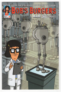 Bob's Burgers #1 Frank Forte Books a Million Variant Cover (2015) Front