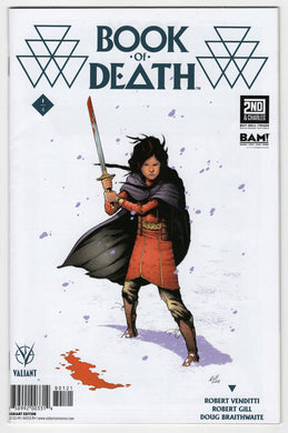 Book of Death #1 Robert Gill Books a Million Variant (2015) Front