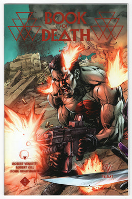 Book of Death #1 Stephen Segovia Midtown Connecting Variant Cover (2015) Front
