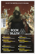 Book of Death #1 Stephen Segovia Midtown Connecting Variant Cover (2015) Back