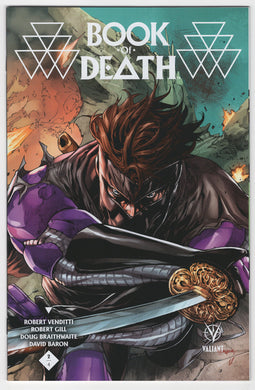 Book of Death #2 Stephen Segovia Midtown Connecting Variant Cover (2015) Front