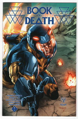 Book of Death #4 Stephen Segovia Midtown Connecting Variant Cover (2015) Front