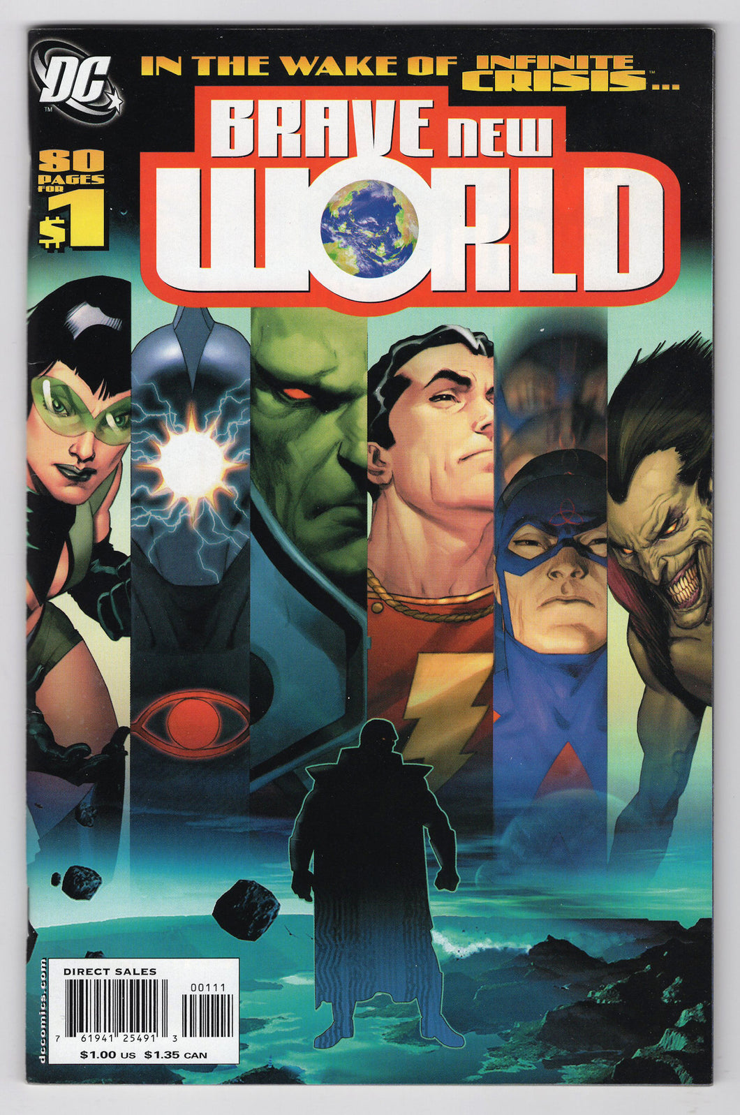 DCU Brave New World #1 Regular Ariel Olivetti Cover (2006) Front