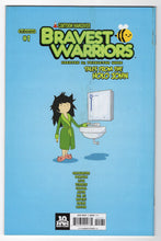 Bravest Warriors Tales From The Holo John #1 Tyson Hesse Loot Crate Variant Cover (2015) Back