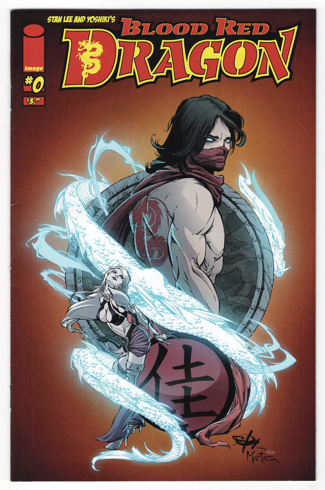 Blood Red Dragon #0 Regular Carlo Soriano Cover (2011) Front