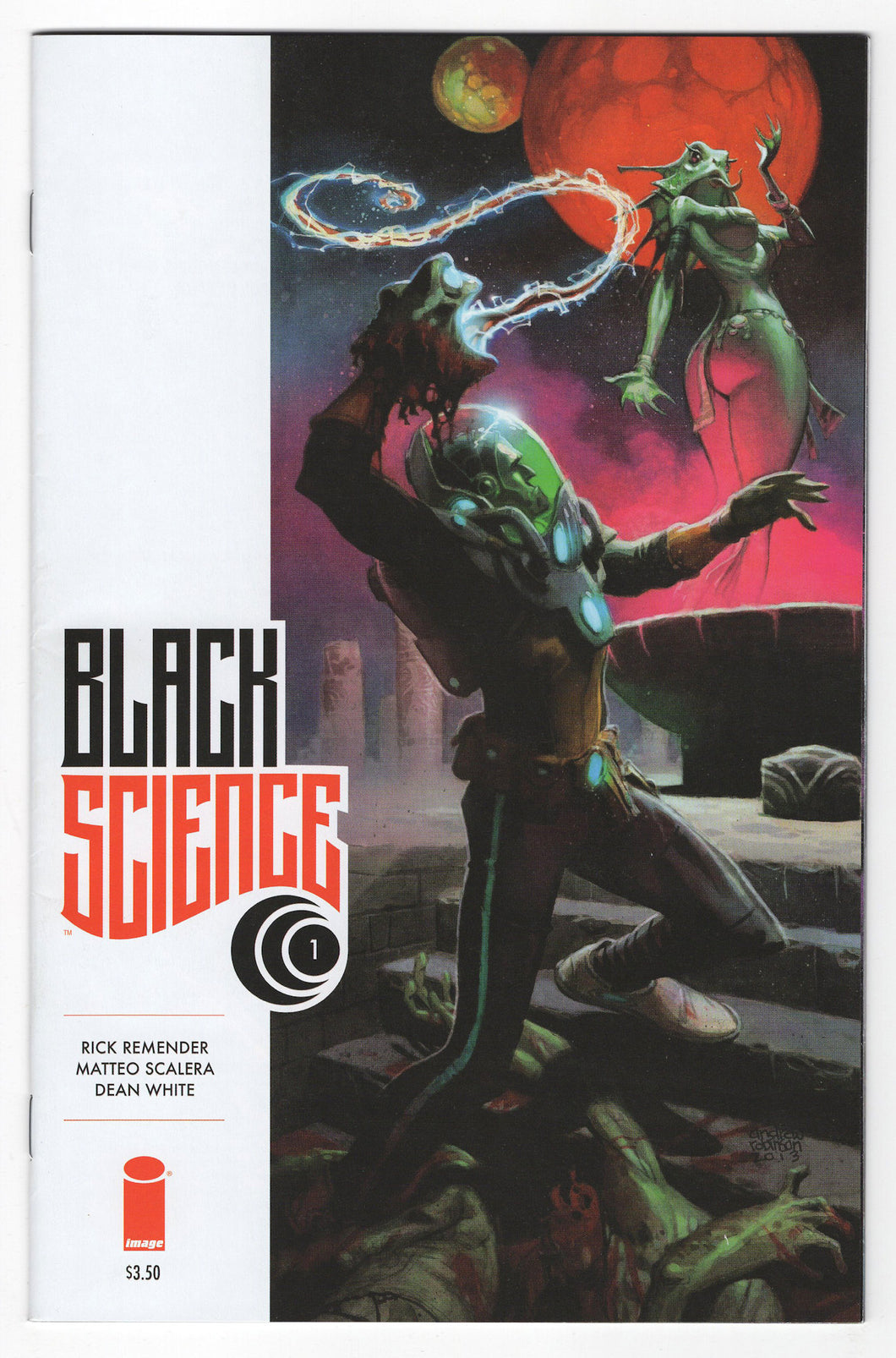 Black Science #1 Andrew Robinson Variant Cover (2013) Front
