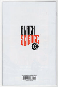 Black Science #1 Andrew Robinson Variant Cover (2013) Back